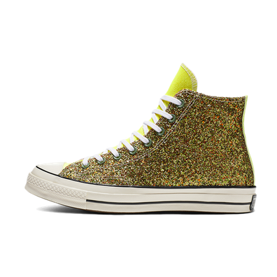 JW Anderson X Converse Chuck 70 'Gold Glitter' productafbeelding