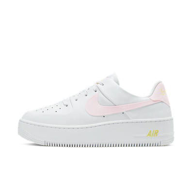 Nike Air Force 1 Sage 'White & Pale Pink' productafbeelding