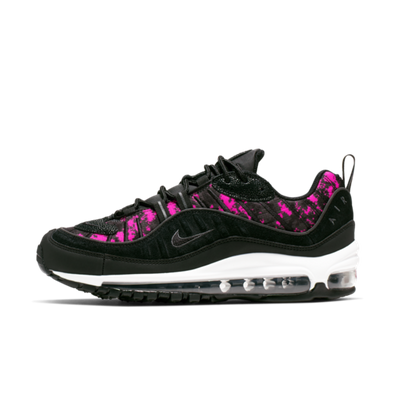 Nike WMNS Air Max 98 Premium 'Pink Camo' productafbeelding