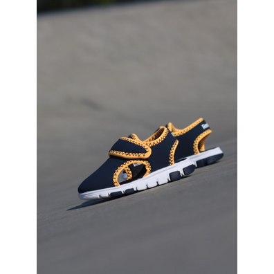 Reebok Wave glider 3 Navy/Yellow TS productafbeelding