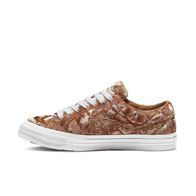 Converse x Golf Le Fleur One Star OX 'Brown Sugar' productafbeelding