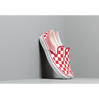 Vans Classic Slip-On (Mix Checker) Chili Pepper productafbeelding