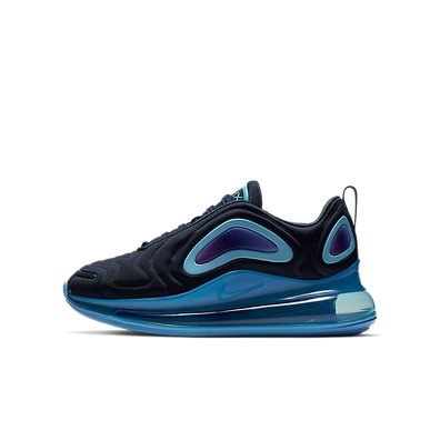 Nike Air Max 720 (GS) Obsidian/ Obsidian-Royal Pulse productafbeelding