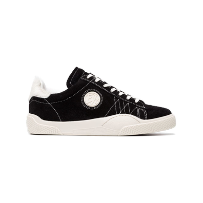Eytys Suede Wave Low Top Sneakers - Zwart productafbeelding