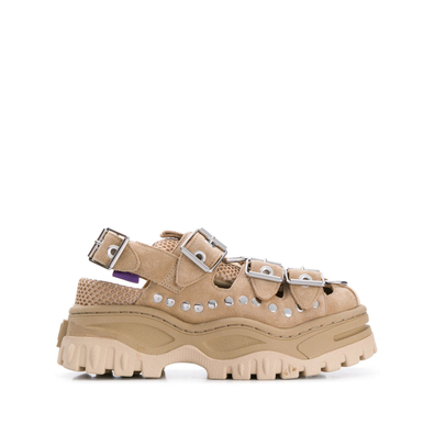 Eytys Sneakers met plateauzool - Nude productafbeelding