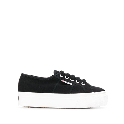 Superga platform canvas productafbeelding