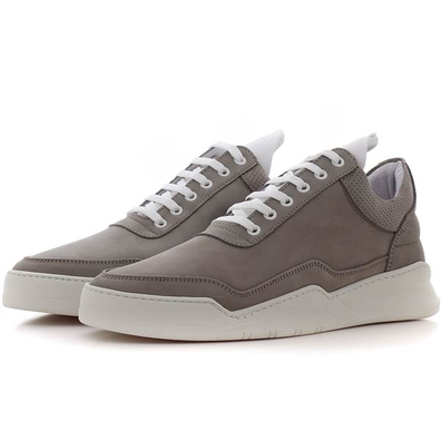 Filling Pieces Low Top Ghost Collar Perforated productafbeelding