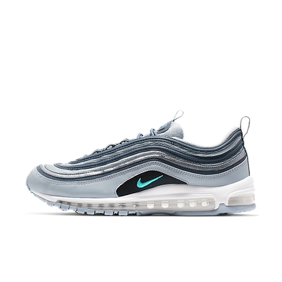 Nike Air Max 97 Essential (Obsidian Mist / Hyper Jade - Monsoon Blue) productafbeelding
