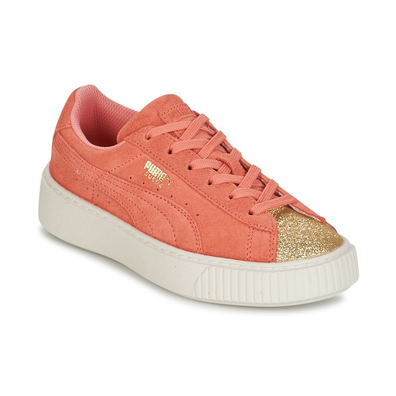 Puma SUEDE PLATFORM GLAM PS productafbeelding
