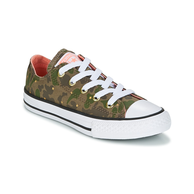 Converse Chuck Taylor All Star Ox Camo Gold Star productafbeelding