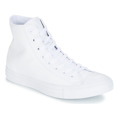 Converse ALL STAR MONOCHROME CUIR HI productafbeelding