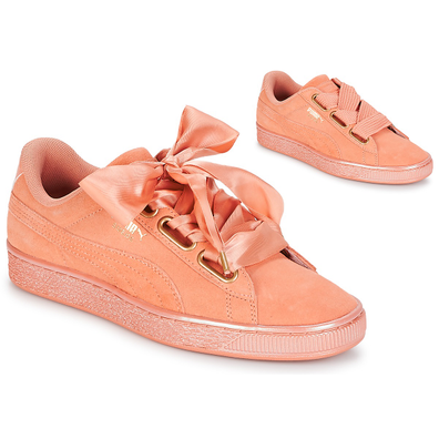 Puma WN SUEDE HEART SATIN.DUSTY productafbeelding