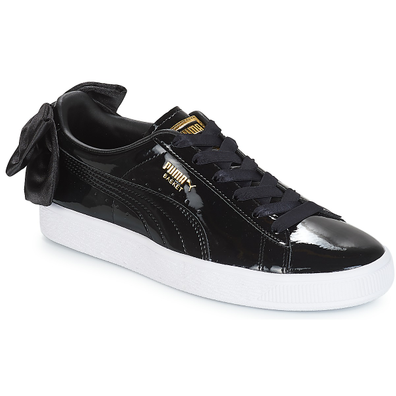 Puma WN SUEDE BOW PATENT.BLACK productafbeelding