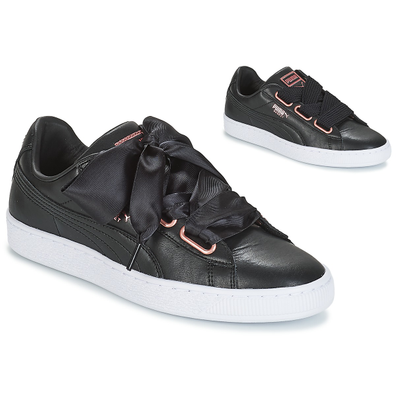 Puma WN SUEDE HEART LEATHER.BLA productafbeelding