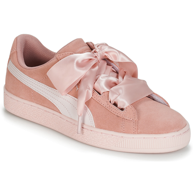 Puma JR SUEDE HEART JEWEL.PEACH productafbeelding
