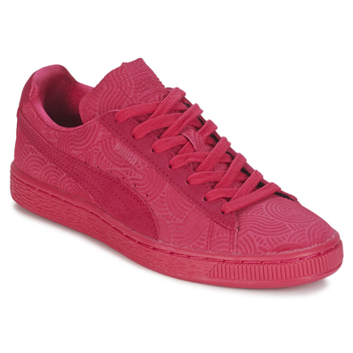 Puma SUEDE CLASSIC + COLORED WN'S productafbeelding