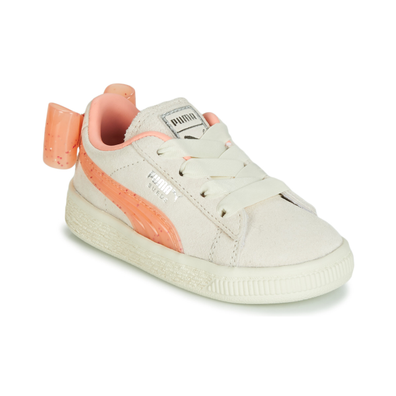 Puma INF SUEDE BOW JELLY AC.WHI productafbeelding