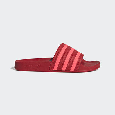 adidas Adilette W (Scarlet / Flame Red / Scarlet) productafbeelding