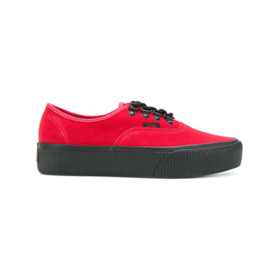 15b6bdff704 Vans platform Old School shoes - Rood