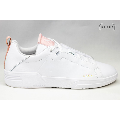 Arkk Uniklass Leather S-C18 'White Shell Pink' productafbeelding