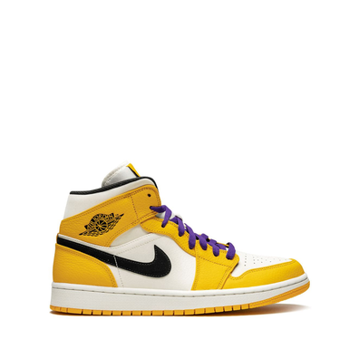Jordan Air Jordan 1 Mid SE - University Gold/Black productafbeelding