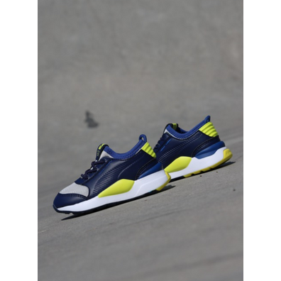 Puma Rs-0 Peacoat/Yellow TS productafbeelding