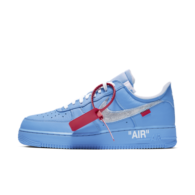 Off-White X Nike Air Force 1 'Blue' - Not Confirmed productafbeelding
