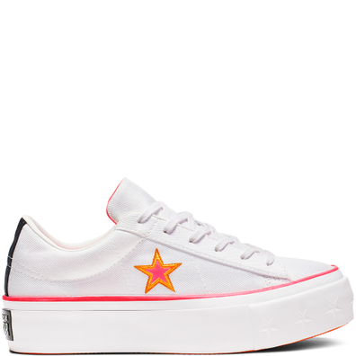 One Star Carnival Colorblock Platform productafbeelding
