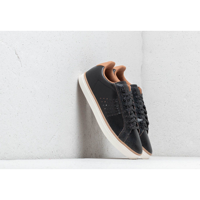 Le Coq Sportif Courtace Premium Black/ Brown Sugar productafbeelding