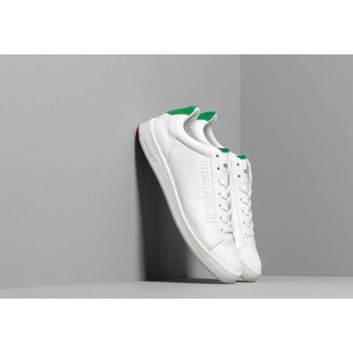 le coq sportif Blazon Optical White/ Evergreen productafbeelding