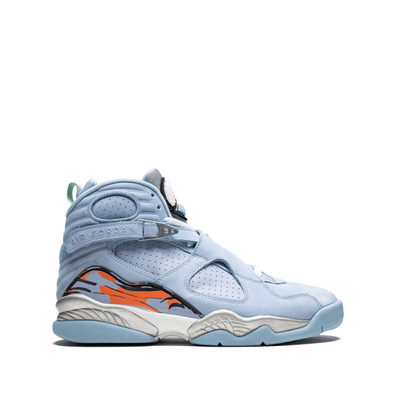 Jordan Womens Air Jordan 8 Retro - Blauw productafbeelding