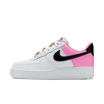 Wmn Air Force 1 07 White Black Pink productafbeelding