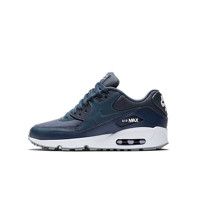 Nike Air Max 90 Mesh (GS) Monsoon Blue/ Monsoon Blue-Midnight Navy productafbeelding