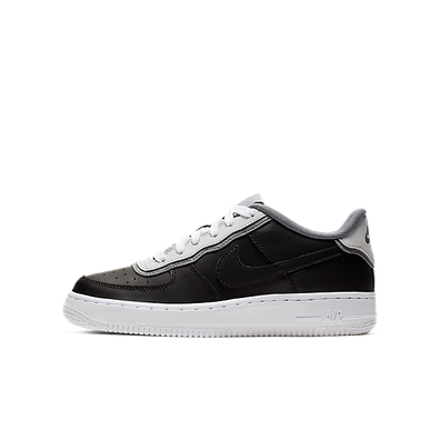Nike Air Force 1 Lv8 1 Dbl Gs Black/ Black-Pure Platinum-Cool Grey productafbeelding