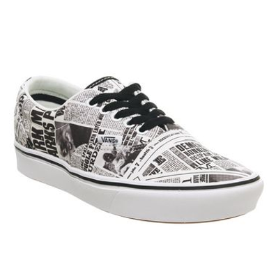 Vans x Harry Potter ComfyCush Era Daily Prophet/ White productafbeelding
