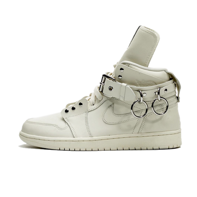 Comme Des Garcon X Air Jordan 1 High 'White' productafbeelding