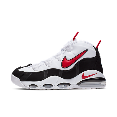 Nike Air Max Uptempo '95 (White / University Red - Black) productafbeelding
