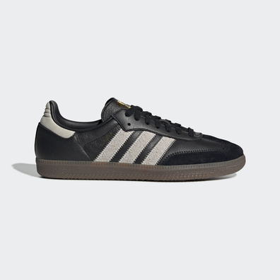 adidas Samba OG Ft Core Black/ Raw White/ Gold Metalic productafbeelding