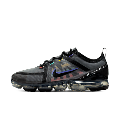 Nike Air Vapormax 2019 SE (Black / Black - Psychic Purple - Flash Crim productafbeelding
