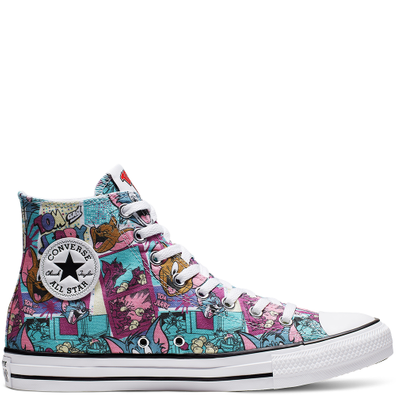 Tom and Jerry Chuck Taylor All Star High Top productafbeelding