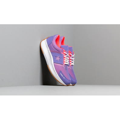 Converse Run Star Wild Lilac/ Racer Pink/ White productafbeelding