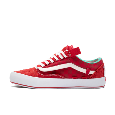 Vans Old Skool Cap LX 'Racing Red' productafbeelding
