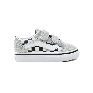 VANS Glitter Checkerboard Old Skool V  productafbeelding