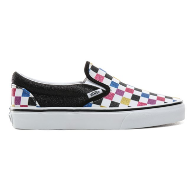 VANS Glitter Checkerboard Classic Slip-on  productafbeelding