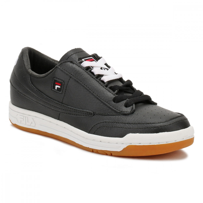Fila Mens Black / White / Gum Original Tennis Trainers productafbeelding
