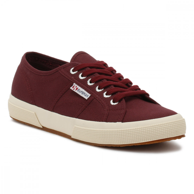 Superga Burgundy 2750 Cotu Trainers productafbeelding