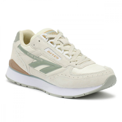Hi-Tec Silver Shadow Womens White / Sage Trainers productafbeelding