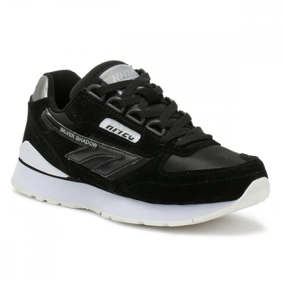 Hi-Tec Silver Shadow Black / Cool Grey Trainers productafbeelding