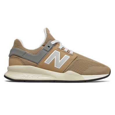 New Balance Womens 247 Hemp Beige / Marblehead Sport Trainers productafbeelding