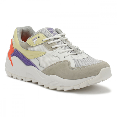 Fila Vault Jogger Womens Grey / Violet / Italian Straw Trainers productafbeelding